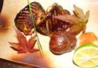 秋刀魚の腸漬け焼き
